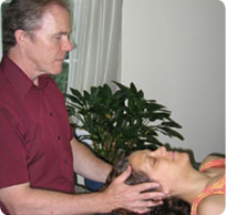 Craniosacral Therapy session